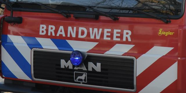 Grote brand industrieterrein Wateringen onder controle