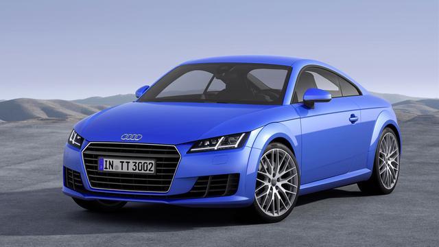 'Audi TT RS krijgt geen handbak meer'