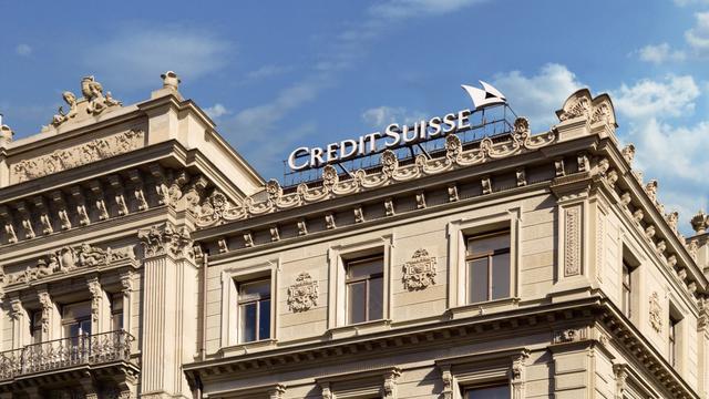 Miljardenverlies voor Credit Suisse