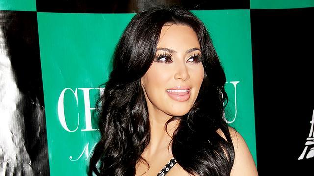 Realityster Kim Kardashian vond bruiloft hemels
