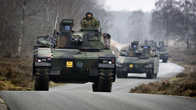 'Oefenen op Duitse tanks'