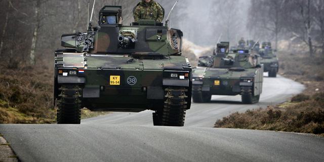 Defensie verkoopt CV90-gevechtsvoertuigen aan Estland