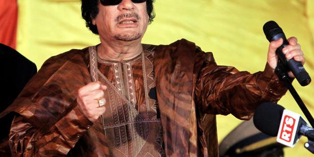 Libië schaft bankbiljetten met Kaddafi af