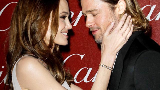 Angelina Jolie en Brad Pitt bezoeken Barack Obama