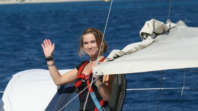 Laura Dekker rondt wereldreis af