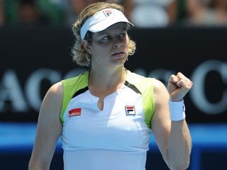 De Belgische laat geen spaan heel van Foretz Gacon uit Frankrijk. In de derde ronde treedt ze in het strijdperk met Hantuchova.