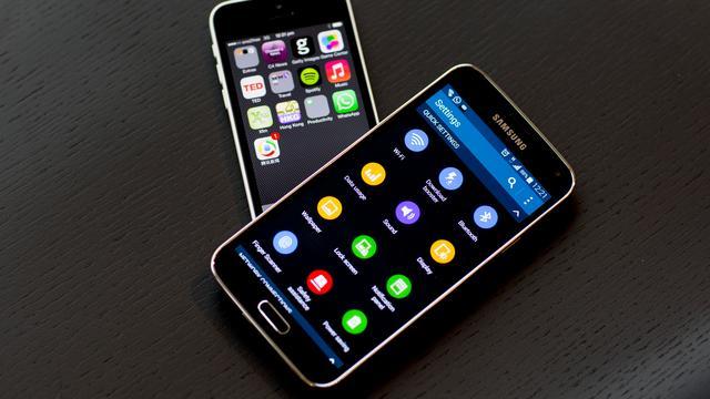 'Amerikanen tevredener met Samsung-telefoons dan iPhones'