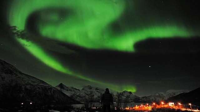 Zonnestorm veroorzaakt lichtshow boven Noord-Europa