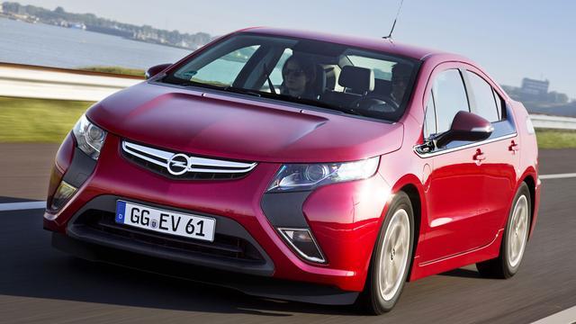 Opel maakt Ampera goedkoper