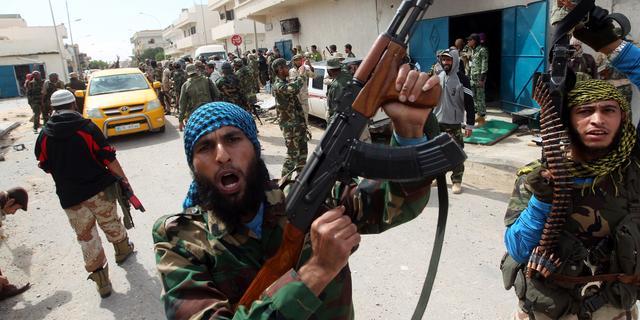 Hoofdbureau politie in Sirte ingenomen