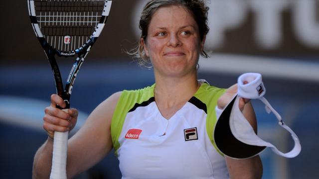 Niet topfitte Clijsters wel in actie tegen Wozniacki