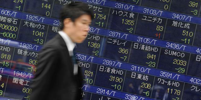 Nikkei onderuit in hogere regio