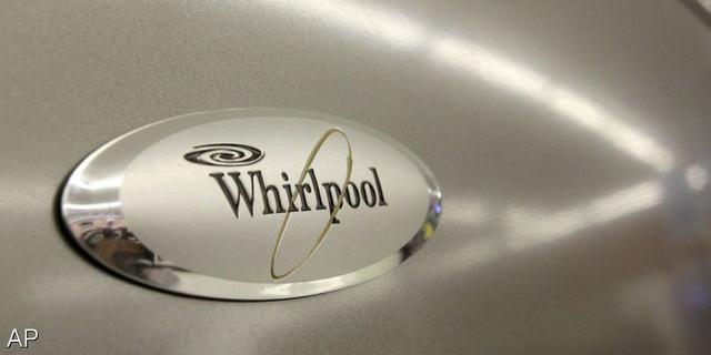 Winst Whirlpool zakt door verkoopdaling