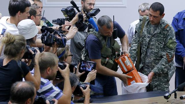 'Zwarte doos bevestigt raketinslag MH17'