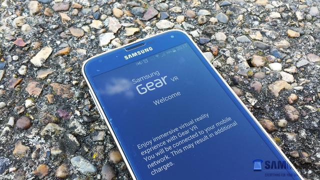 Software voor Samsungs virtual reality-bril gelekt