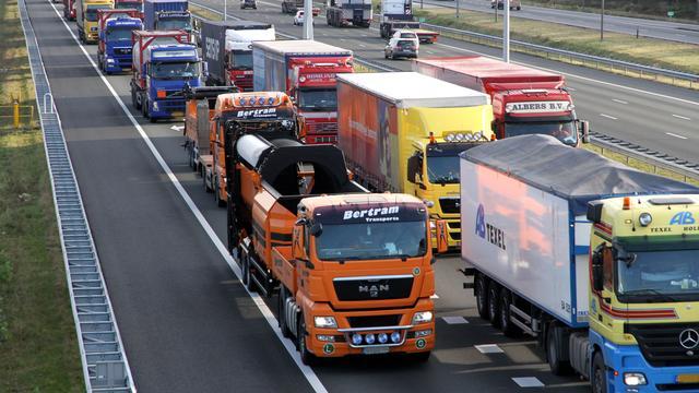 Tekort vrachtwagenchauffeurs leidt tot 'grote bevoorradingsproblemen'