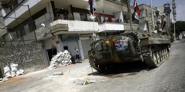 'Tijdens opstand 88 gevangen Syriërs bezweken'