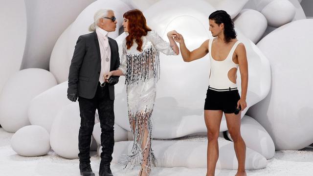 Mannencollectie Karl Lagerfeld succes