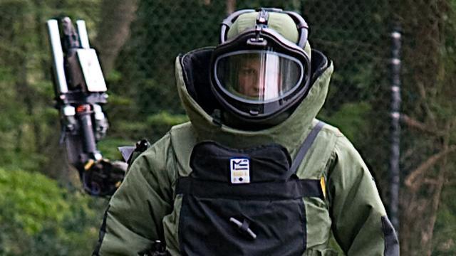 EOD opgeroepen om mogelijk explosief