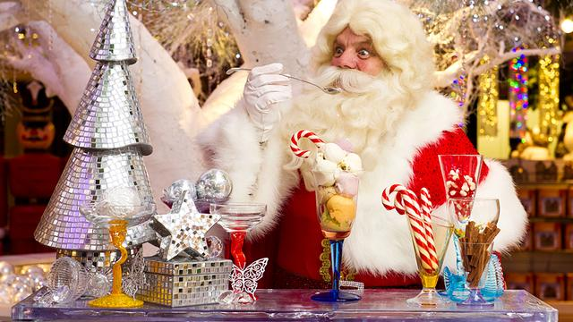 Even langs bij Harrods' Kerstman? Alleen als je ouders 2.000 pond uitgeven