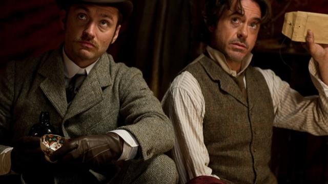 'Scriptschrijver werkt aan derde Sherlock-film'