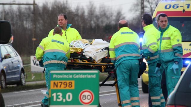 Vrouw gewond door explosie Amsterdam
