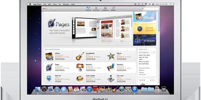 Ruim honderd miljoen downloads via Mac App Store