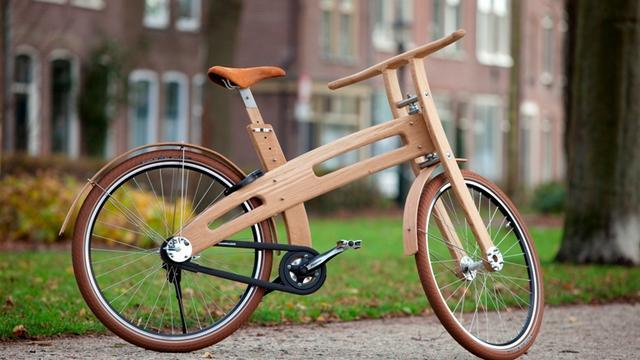 Bough Bikes introduceert fiets van hout