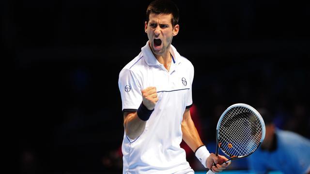 Moeizame zege Djokovic in Londen