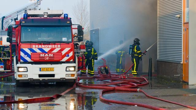 Brand bij slibverwerking Zutphen