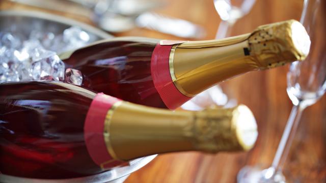Verkoop champagne toegenomen
