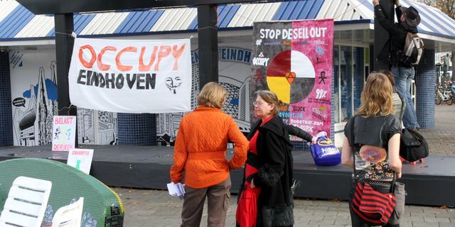 Eindhoven wacht kort geding Occupy af
