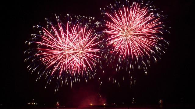 Grootste vuurwerkshow ooit in Amsterdam