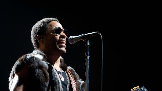Lenny Kravitz op Bospop 2012