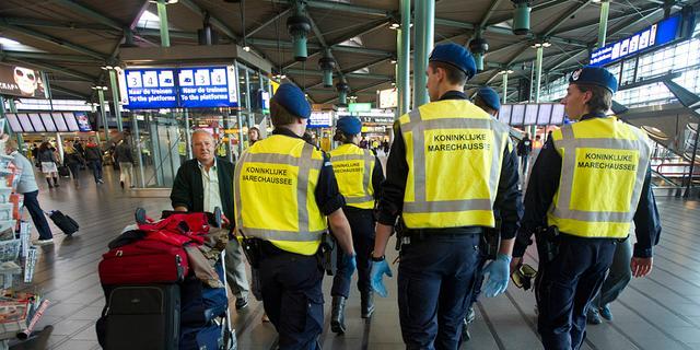 Indringer Schiphol opgepakt
