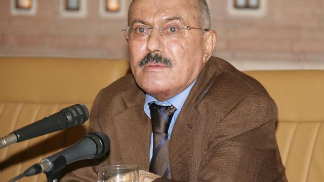 Gewonde Saleh blijft in Saudi-Arabië