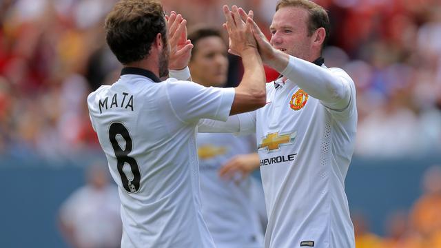 Van Gaal wint met Manchester United ook tweede oefenduel