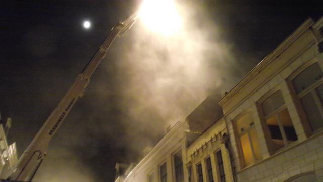Sloop na brand centrum Kampen klaar