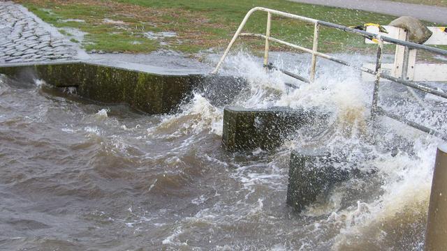 Water Lauwersmeer gestegen maar onder controle