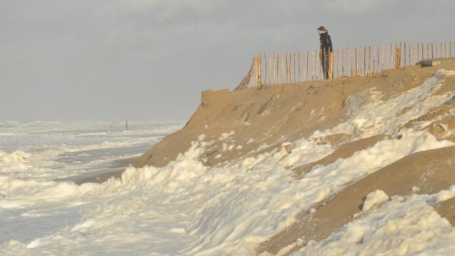 Waarschuwing voor hoogwater aan kust