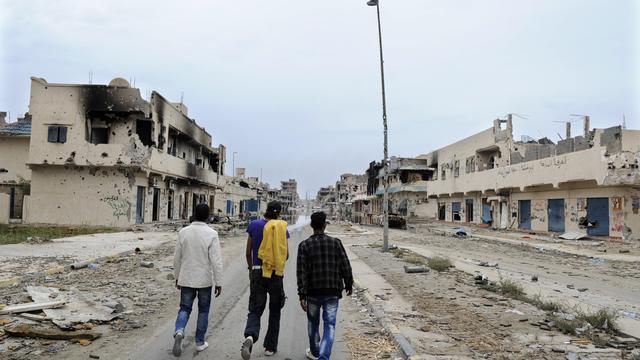 'Meer dan 250 lichamen gevonden in Sirte'