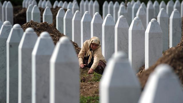 Lange celstraffen voor massamoord Srebrenica