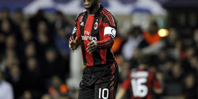 Seedorf traint weer mee bij AC Milan