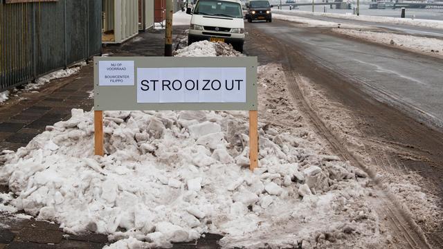 'Noord-Hollandse gemeenten negeren zoutloket'
