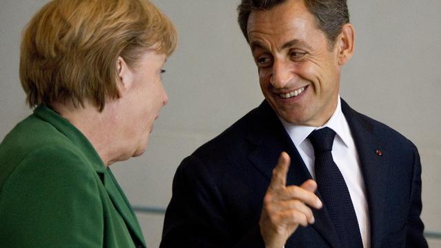 Sarkozy, Merkel en Monti donderdag bijeen