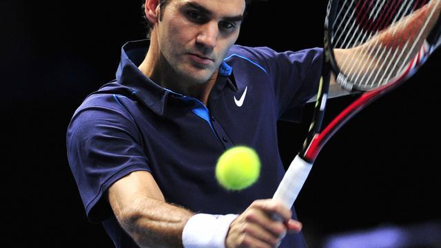 Federer wint ook van Fish in Londen