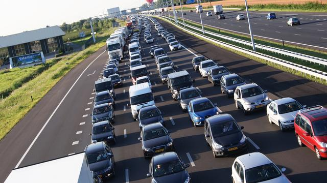 A12 dicht na ongeval