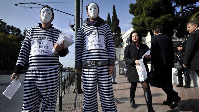 Half miljoen Grieken heeft geen inkomen
