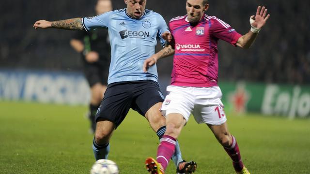 Ajax neemt belangrijk punt mee uit Lyon