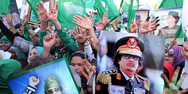 'Kaddafi in dorp bij grens Algerije'